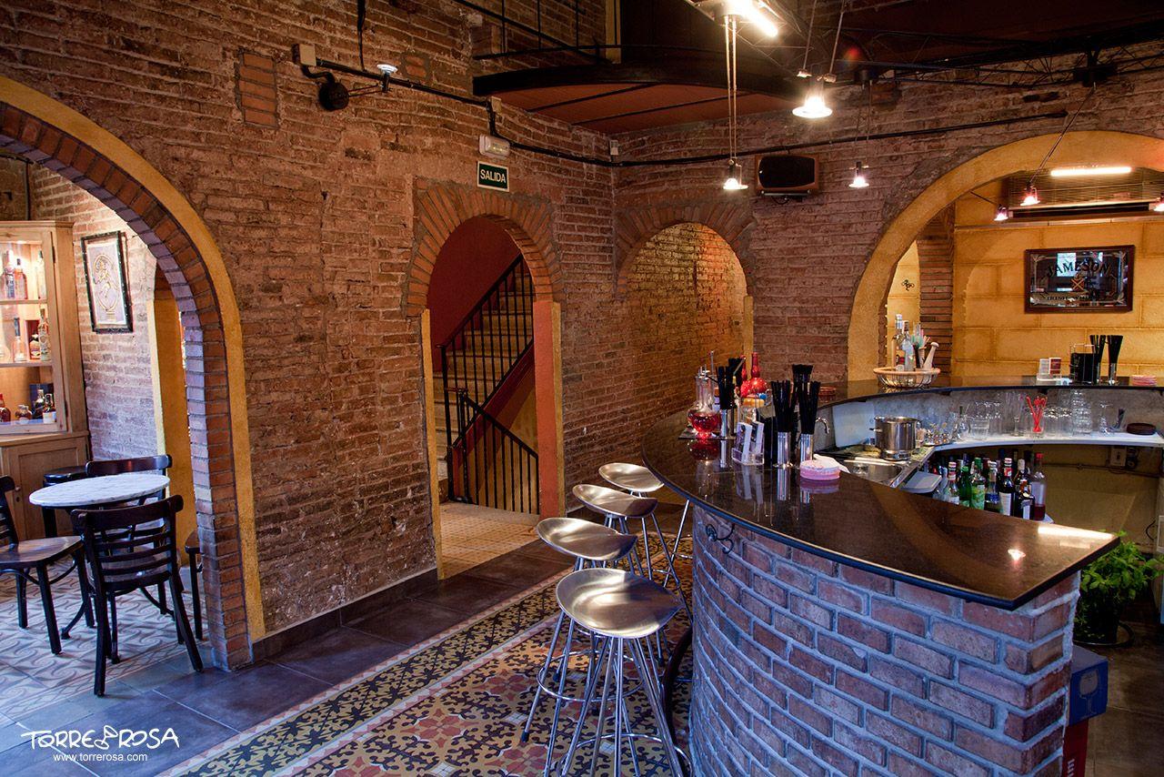 Interior de la coctelería