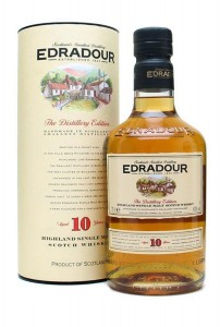 Whisky Edradour 10 años