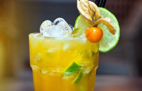 Cócteles con zumos naturales