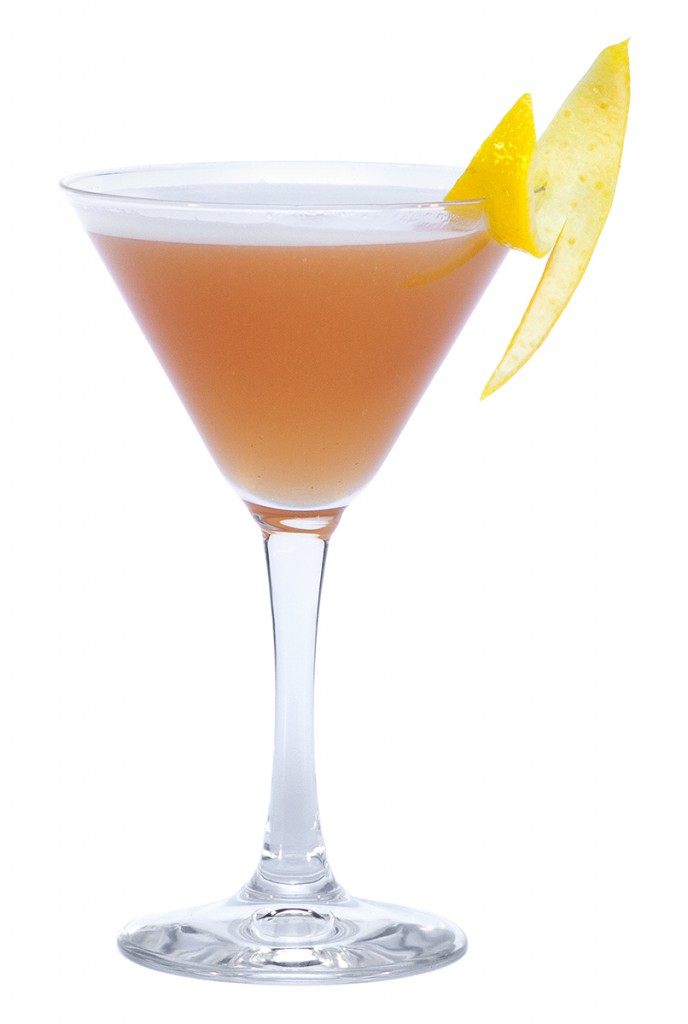 Cóctel French Martini