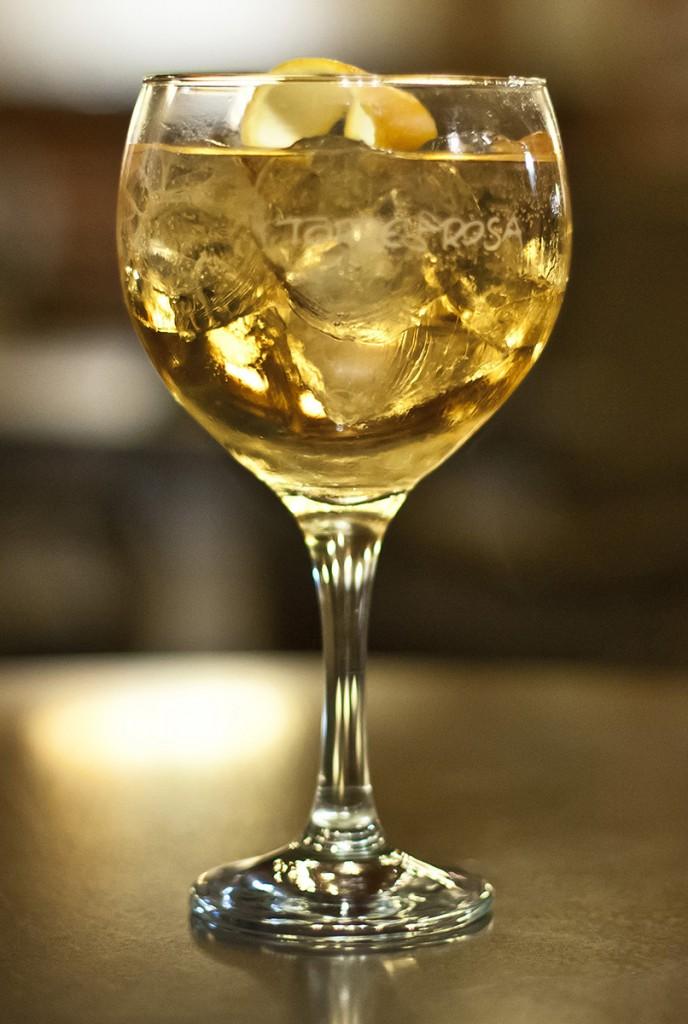 gin-tonic Saffron