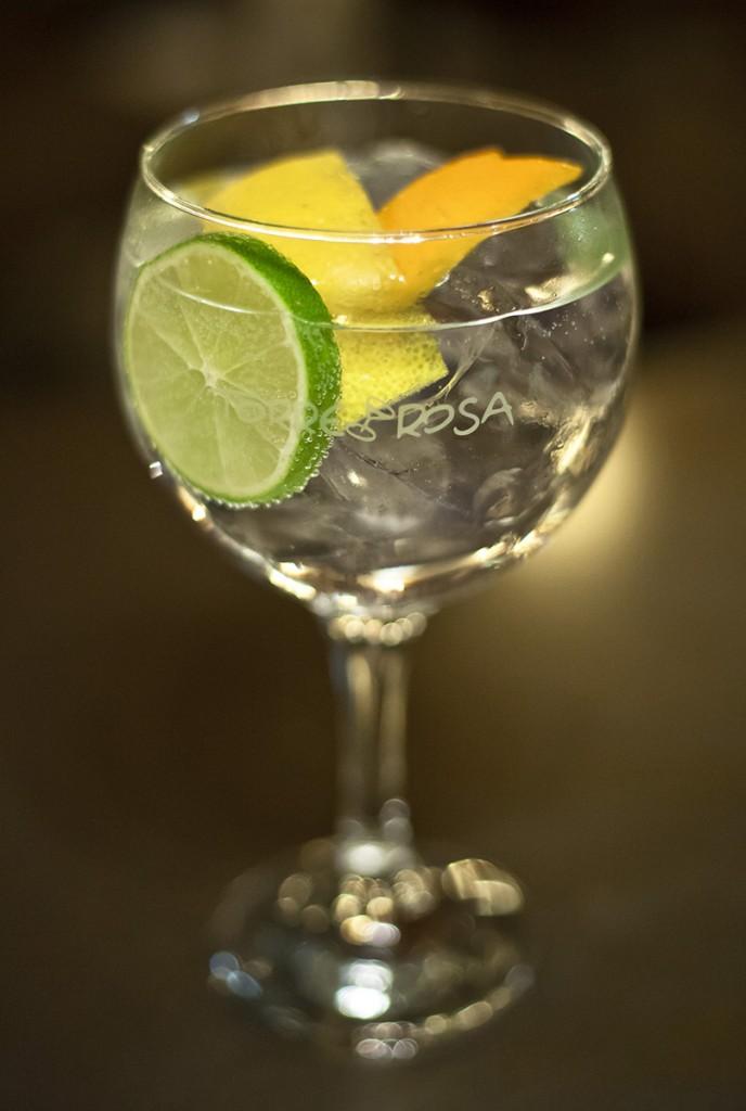 gin-tonic Tanqueray Ten