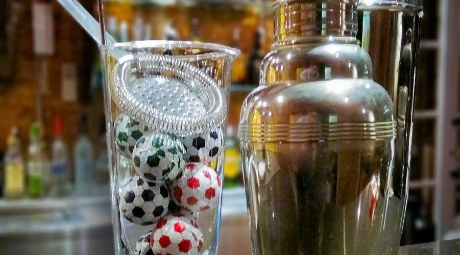 Cócteles las copas del futbol