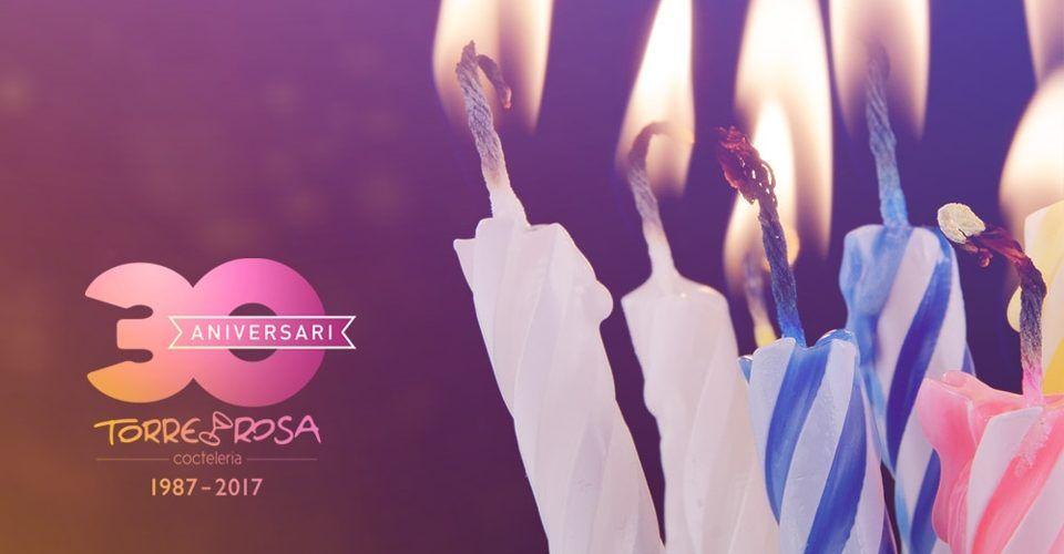 30 aniversario coctelería Torre Rosa