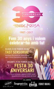 30 aniversari Torre Rosa