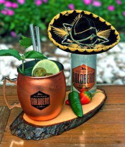 Mexican mule foto editada