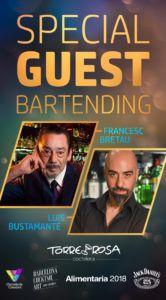Special guest bartending-Francesc Bretau-Luis Bustamante