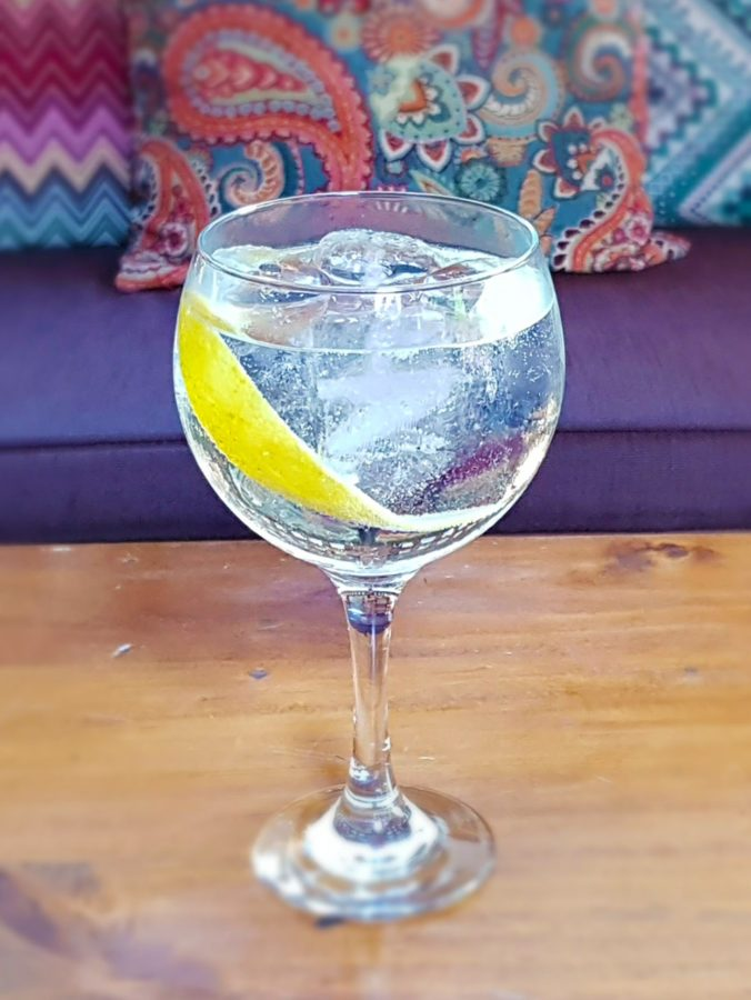 Our cocktail Gin Juls