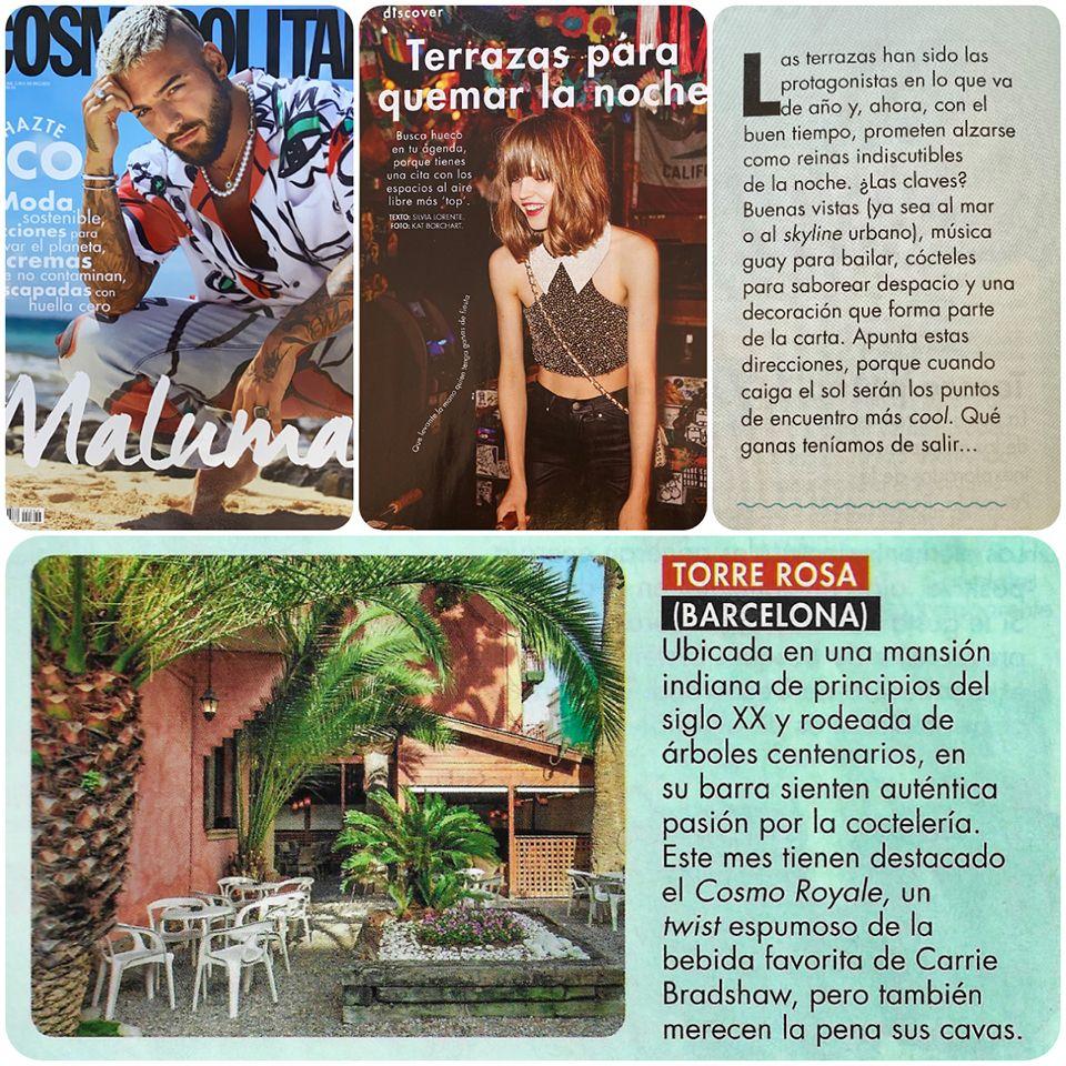 Recortes de la revista Cosmopolitan